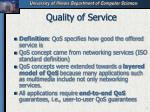 quality of service5
