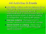 4 h activities events