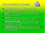 4 h activities events22