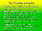 4 h activities events24