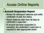 access online reports2