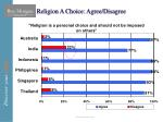 religion a choice agree disagree
