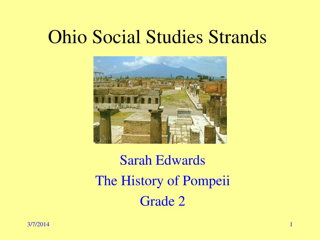 ohio social studies strands l.