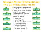 sesame street international the co production model
