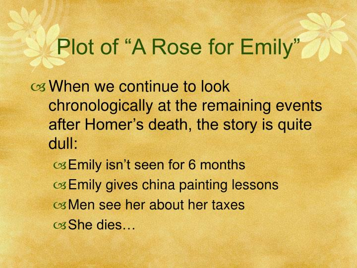 a rose for emily lesson