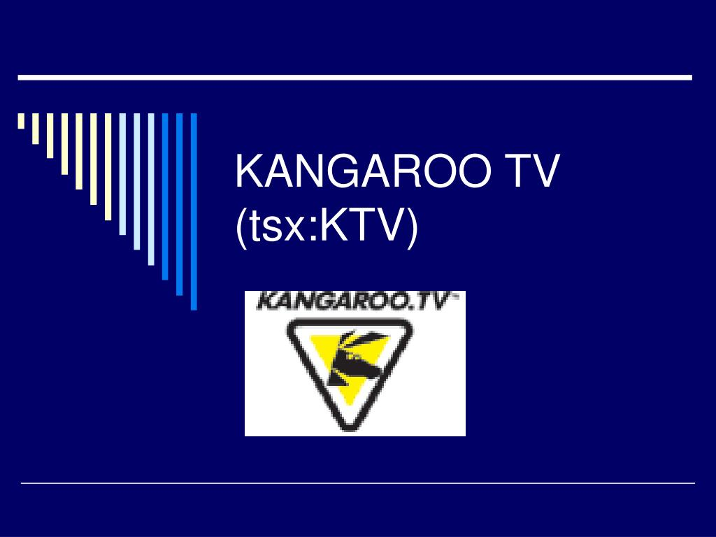 kangaroo tv tsx ktv l.