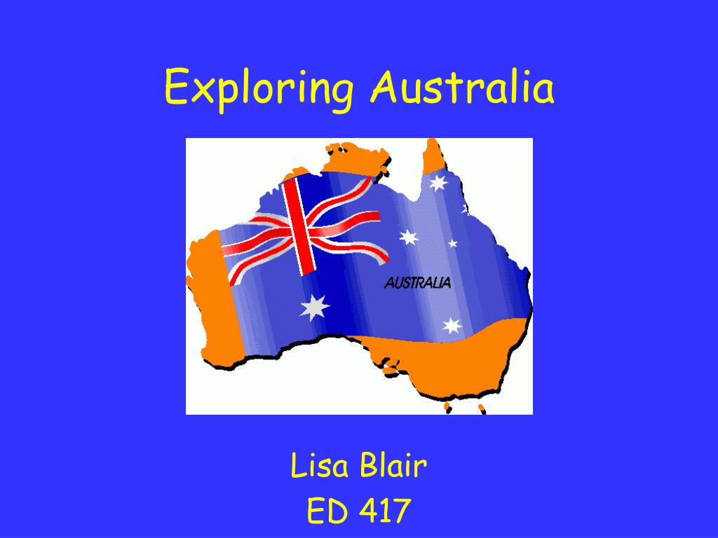 exploring australia l.