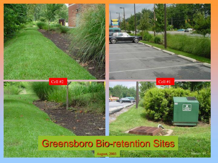 Greensboro Bio-retention Sites