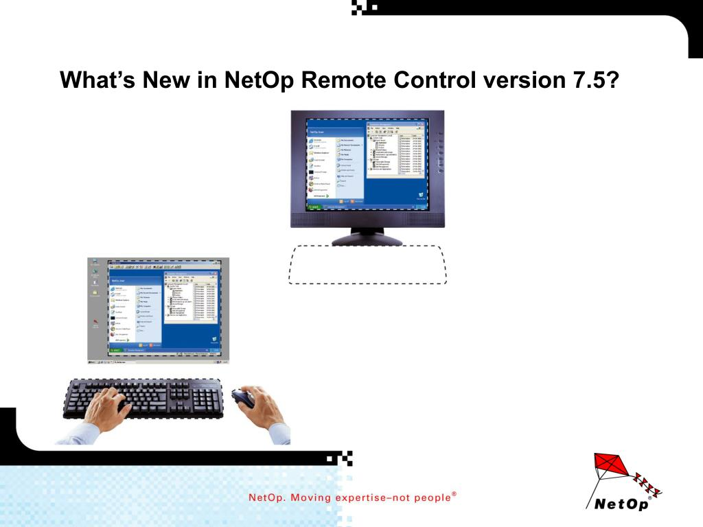 what s new in netop remote control version 7 5 l.