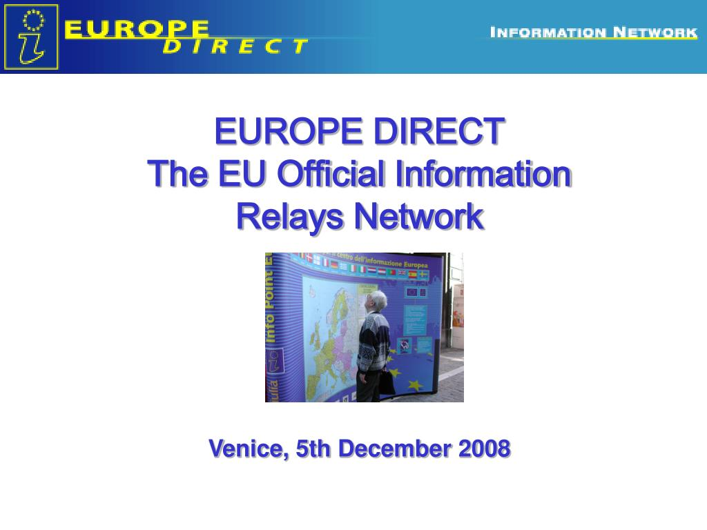 europe direct the eu official information relays network l.