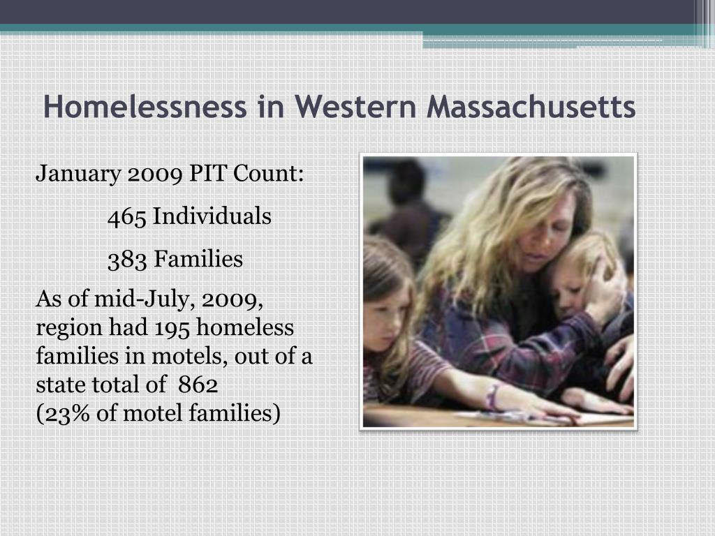 Homelessness in Western Massachusetts
