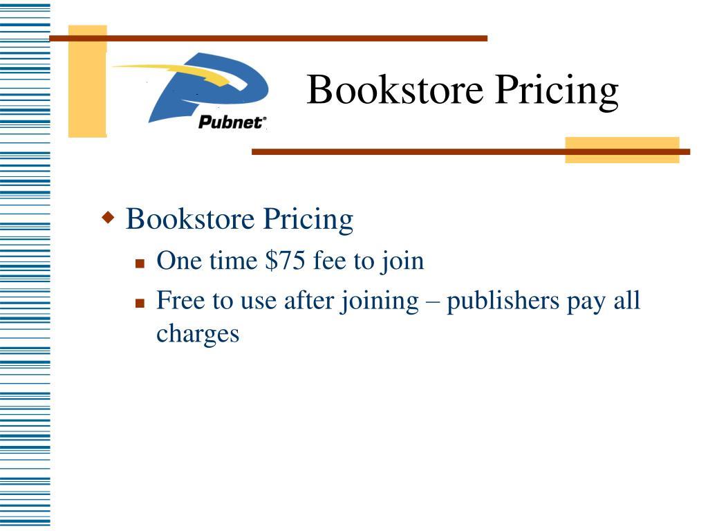 Bookstore Pricing