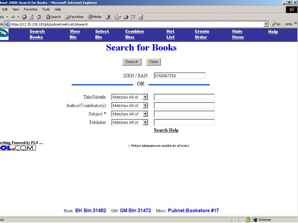 Textbook Bundle Finder