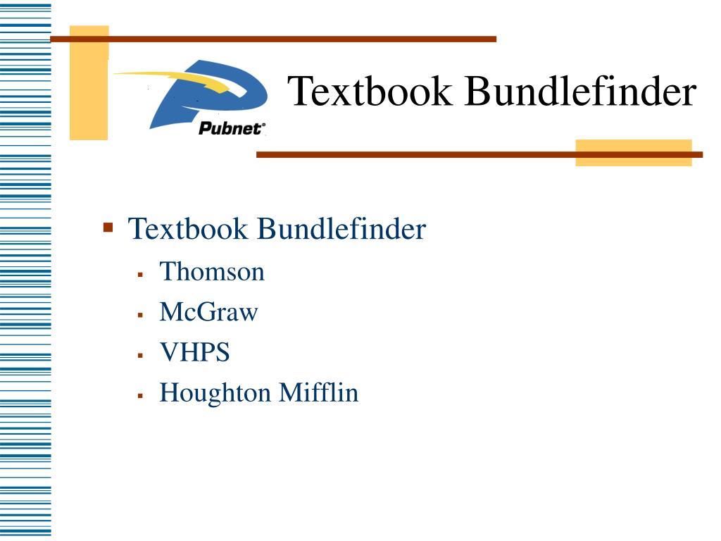 Textbook Bundlefinder