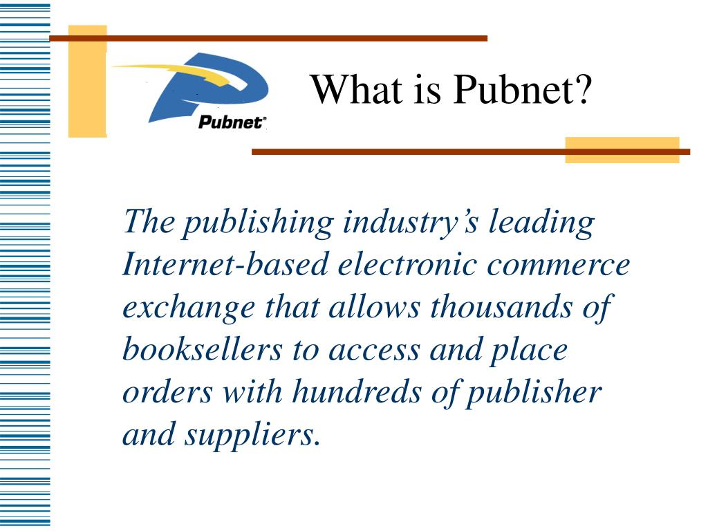 What is Pubnet?