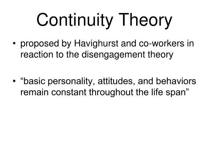 compare disengagement activity theory The earliest gerontological theory in the functionalist perspective is disengagement theory, which suggests that withdrawing from society and social relationships is a natural part of growing old there are several main points to the theory.