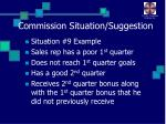 commission situation suggestion24