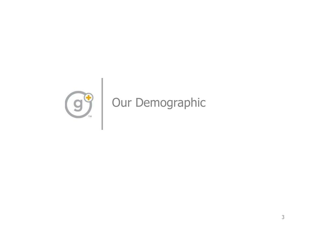 Our Demographic
