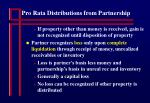 pro rata distributions from partnership23