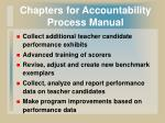 chapters for accountability process manual29
