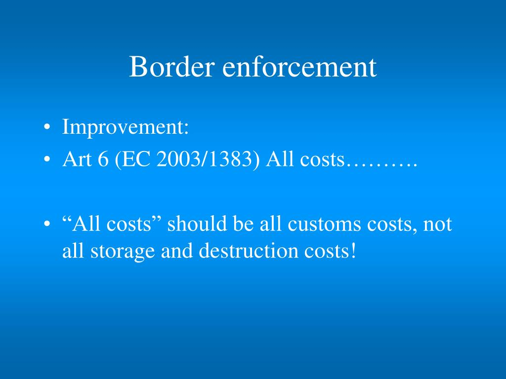 border enforcement