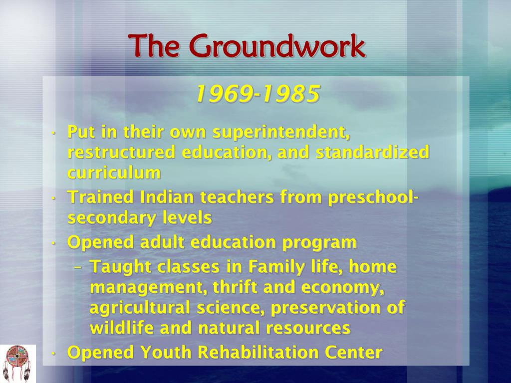 The Groundwork