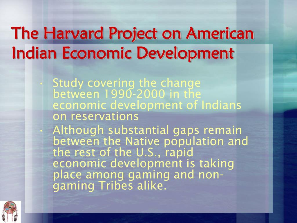 The Harvard Project on American Indian Economic Development