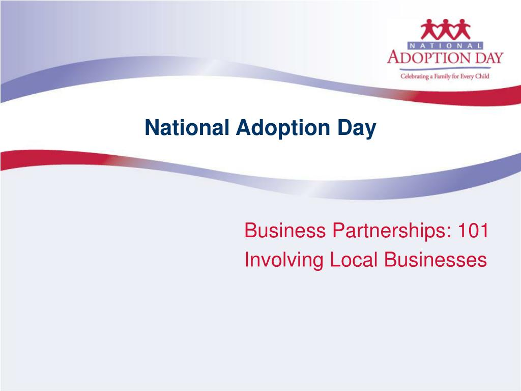 national adoption day l.
