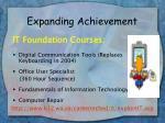 expanding achievement24