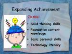 expanding achievement4