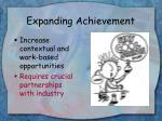 expanding achievement9