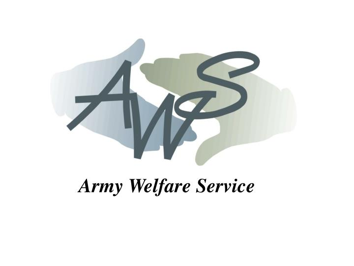 Ppt army welfare service powerpoint presentation id501135 army welfare service toneelgroepblik Choice Image