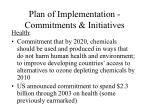 plan of implementation commitments initiatives8