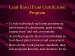 lead based paint certification program1