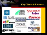 key clients partners