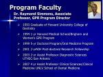 program faculty31