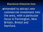 biosciences enterprise zone