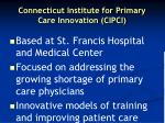 connecticut institute for primary care innovation cipci