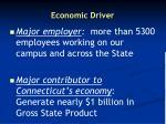 economic driver