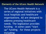 elements of the uconn health network