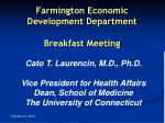farmington economic development department breakfast meeting2