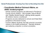 dental professionals growing your own to recruiting from afar13