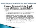 dental professionals growing your own to recruiting from afar14