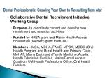 dental professionals growing your own to recruiting from afar3