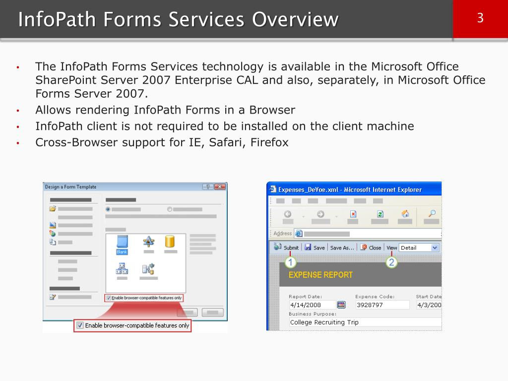 InfoPath Forms Services Overview
