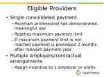 eligible providers53