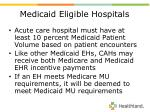 medicaid eligible hospitals10