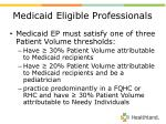 medicaid eligible professionals13