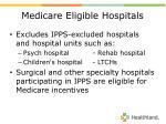 medicare eligible hospitals7