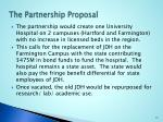 the partnership proposal